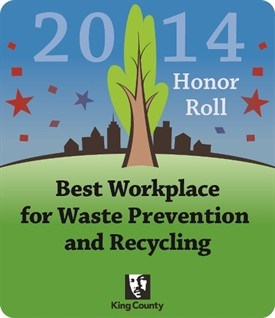 2014 Best Workplace for Waste Prevention and Recycling