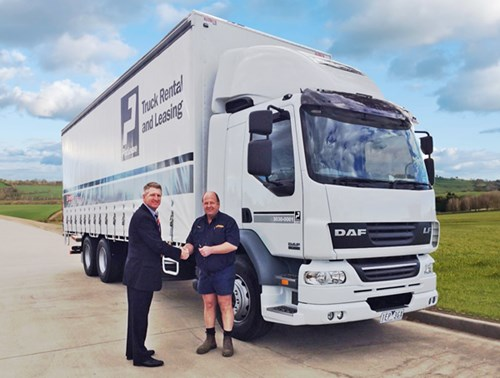 PacLease Australia's First Customer Takes Delivery of DAF LF Truck