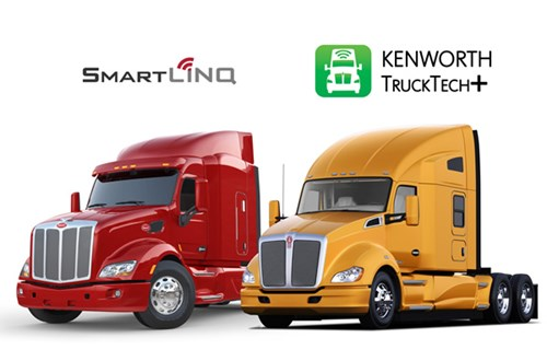 Peterbilt SmartLinq and Kenworth TruckTech+ Connected Truck Systems