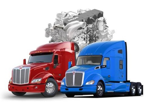 Peterbilt Model 579 and Kenworth T680 with PACCAR MX-13 Engine