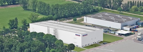 DAF Westerlo, Belgium Cab Paint Facility (Architectural Drawing)