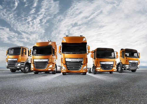 DAF XF, CF and LF Euro 6 Trucks