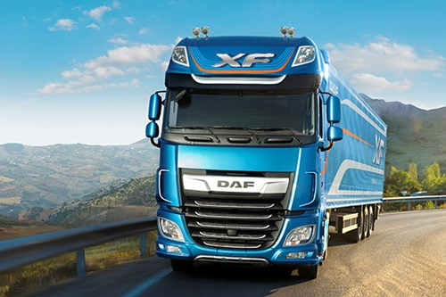 Model Year 2017 DAF XF Truck