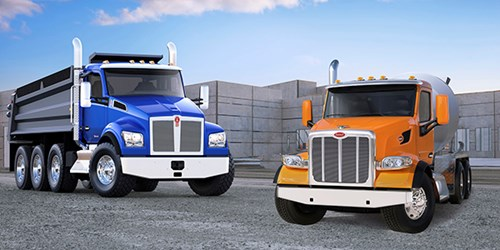 Kenworth T880S and Peterbilt Model 567 SFFA Vocational Trucks