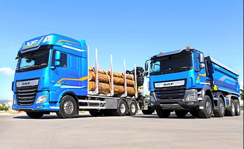 DAF XF and CF Vocational Trucks